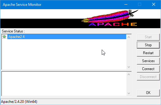 Apache Started